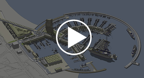 Videos of the 3D model